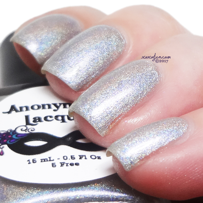 xoxoJen's swatch of Anonymous Lacquer Harley Daze