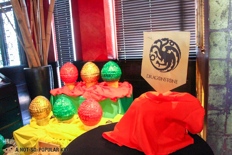 Game of Easter -- egg hunting in Buddha Bar Manila