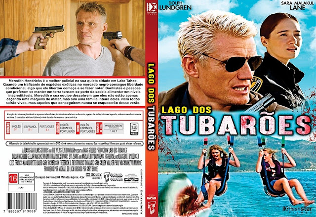 Capa DVD Lago Dos Tubarões