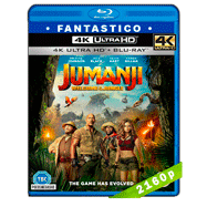Jumanji: En la selva (2017) 4K UHD Audio Dual Latino-Ingles