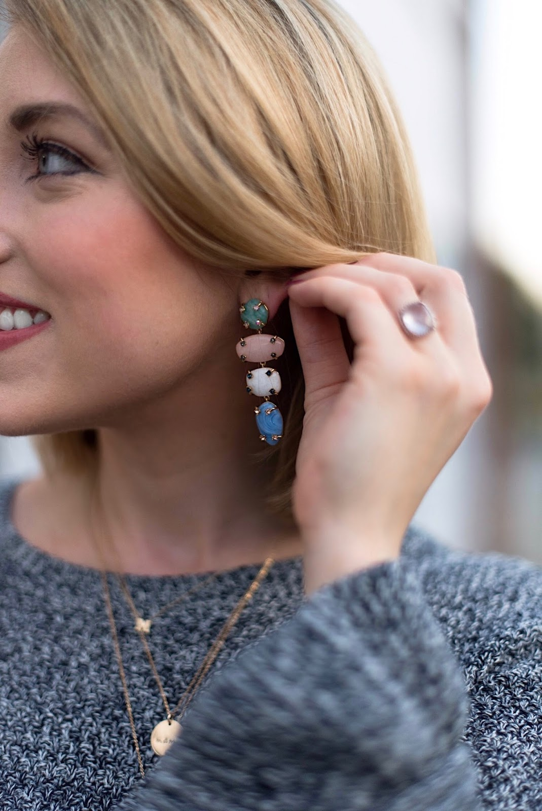 Baublebar Statement Earrings - Something Delightful Blog
