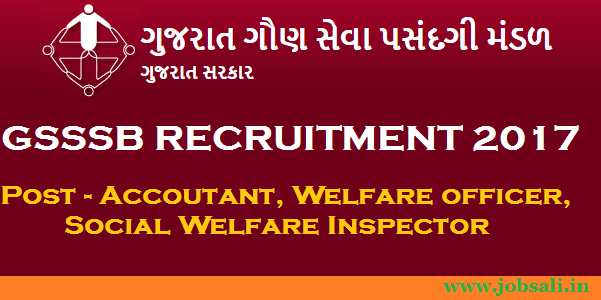 gujarat government jobs ojas, gsssb exam date, gsssb accountant recruitment