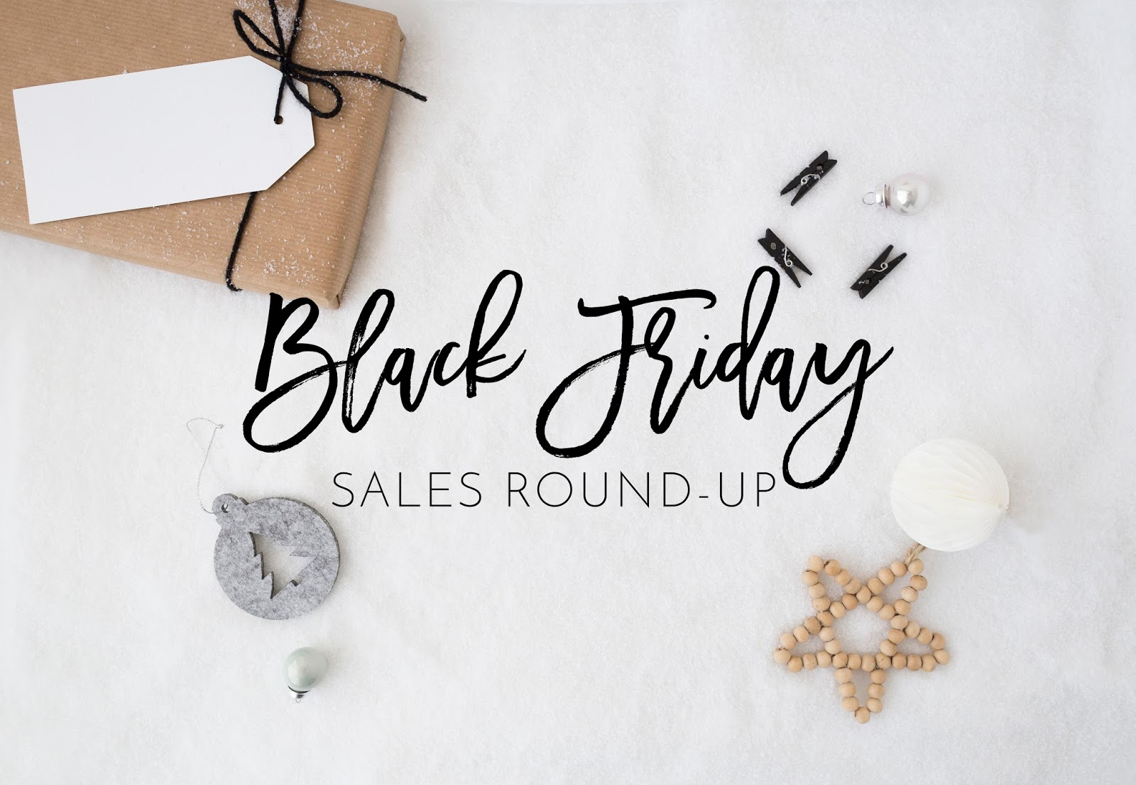 Black Friday Sales Round-up