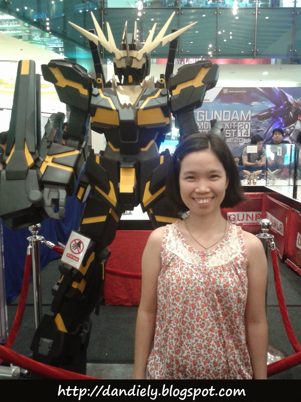 Gundam Model Kit Contest 2014 Philippines - Banshee Destroy Mode