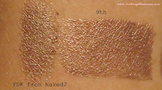 Urban Naked Dupe in Freedom Makeup Jewels and Romance Palette