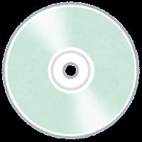 ディスクメディアのイラスト(CD-R)