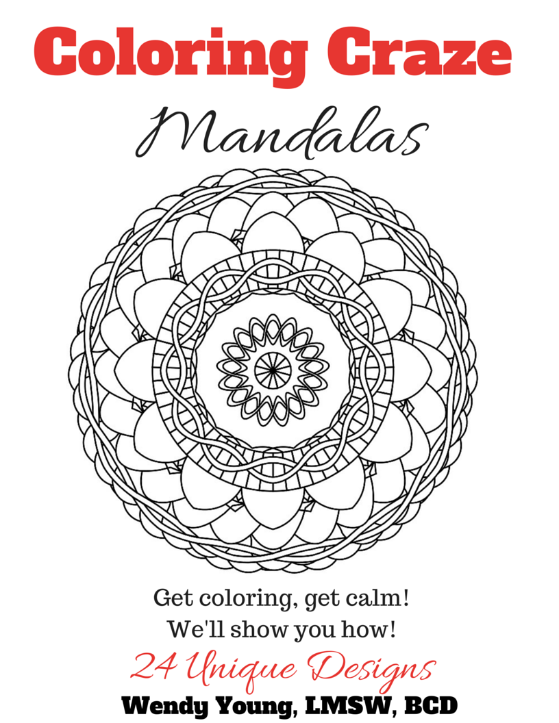 coloring craze mandalas to calm you kidlutions. Black Bedroom Furniture Sets. Home Design Ideas