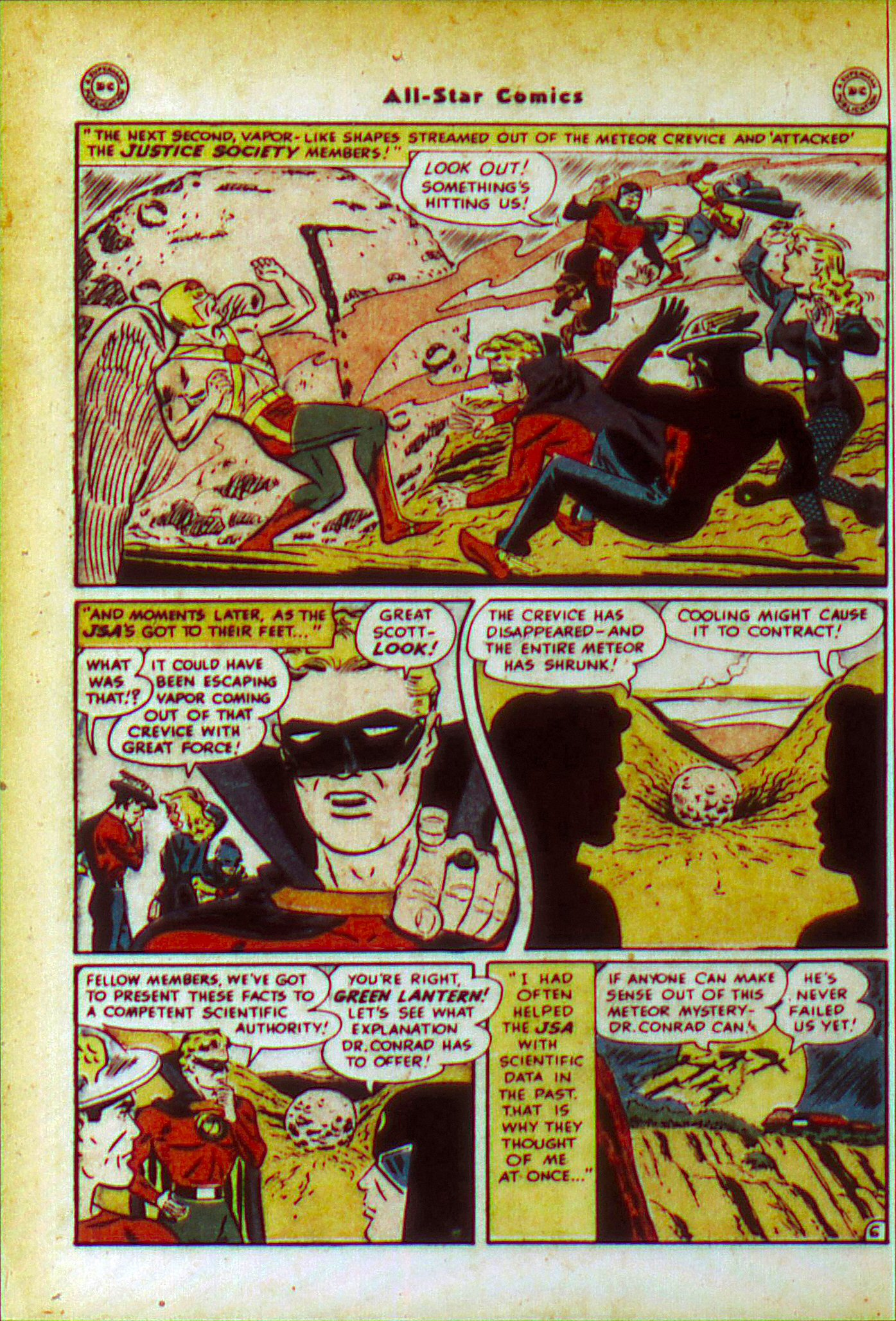 Read online All-Star Comics comic -  Issue #49 - 8