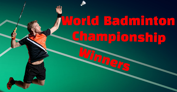 bwf, badminton, world championships,  Men's, Women's,  Singles,champions, winners, medalist, List, year by year, history.