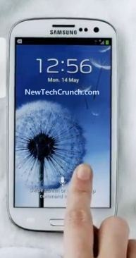 Samsung Galaxy s3 design features touch