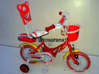 Sepeda Anak Erminio 1222 Sandaran 12 Inci