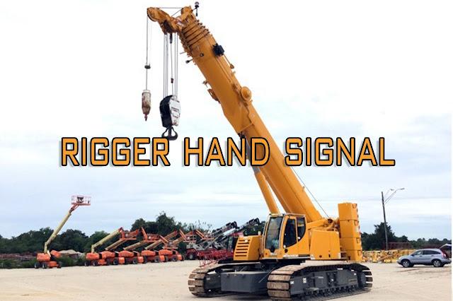 Crane Rigger Hand Signal