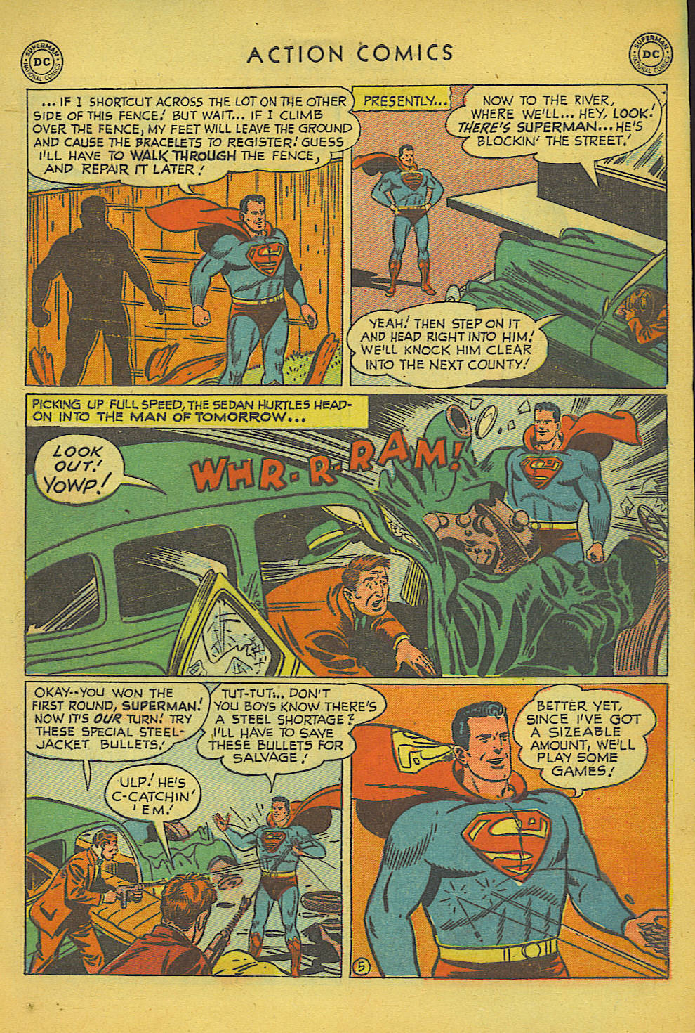 Read online Action Comics (1938) comic -  Issue #157 - 6