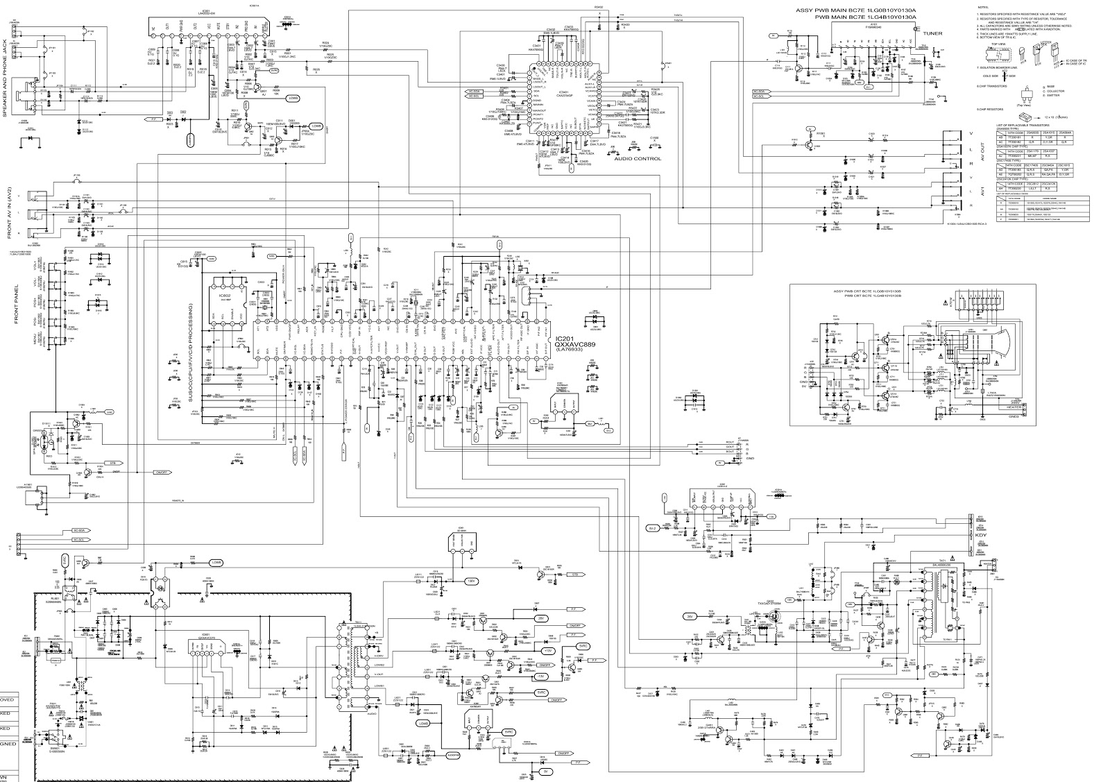 Tv Schematic Diagrams Wiring Diagram Schematics Circuits Sanyo C29lf41 Crt Circuit Jvc Full