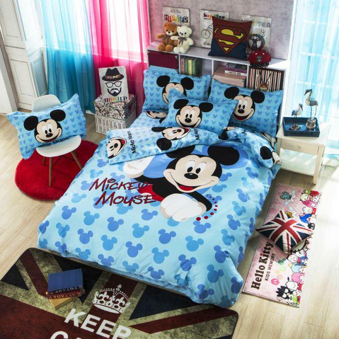 10 desain kamar tidur mickey mouse yang paling disukai