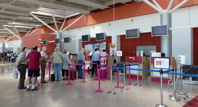 Flughafen Sibiu - Check-in