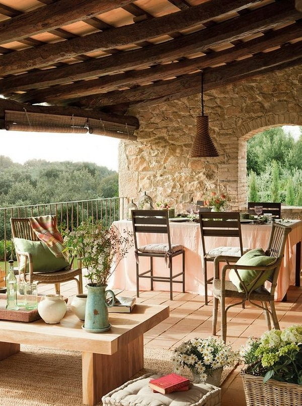 The Best Ideas Of Rustic Terraces 4