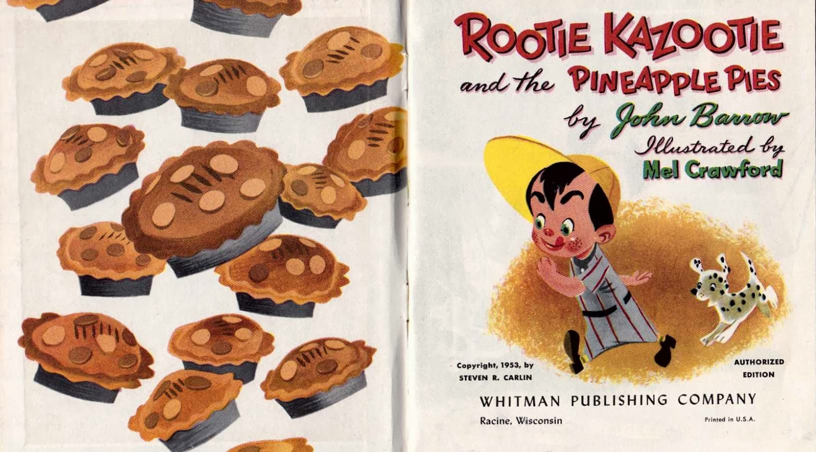 Tell-a-Tale nu - Rootie Kazootie and the Pineapple Pies