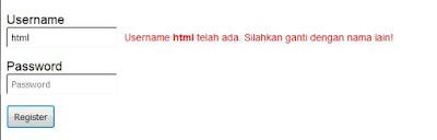 check username