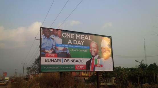 APC One Meal A Day Billboard