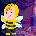 Games4king Slothful Bee Rescue