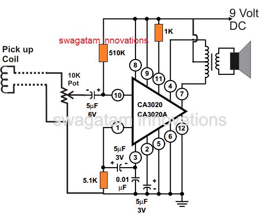 Simple Telephone Amplifier