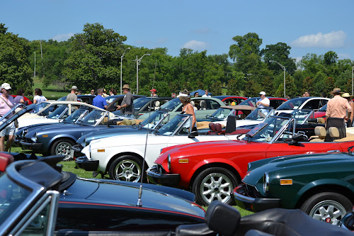 Fiat Spiders at Fiat FreakOut