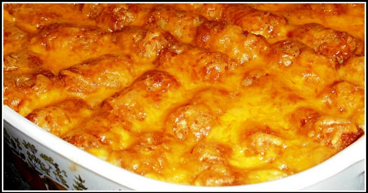 Sandra's Alaska Recipes: SANDRA'S EASY CHEESY TATER TOT ...