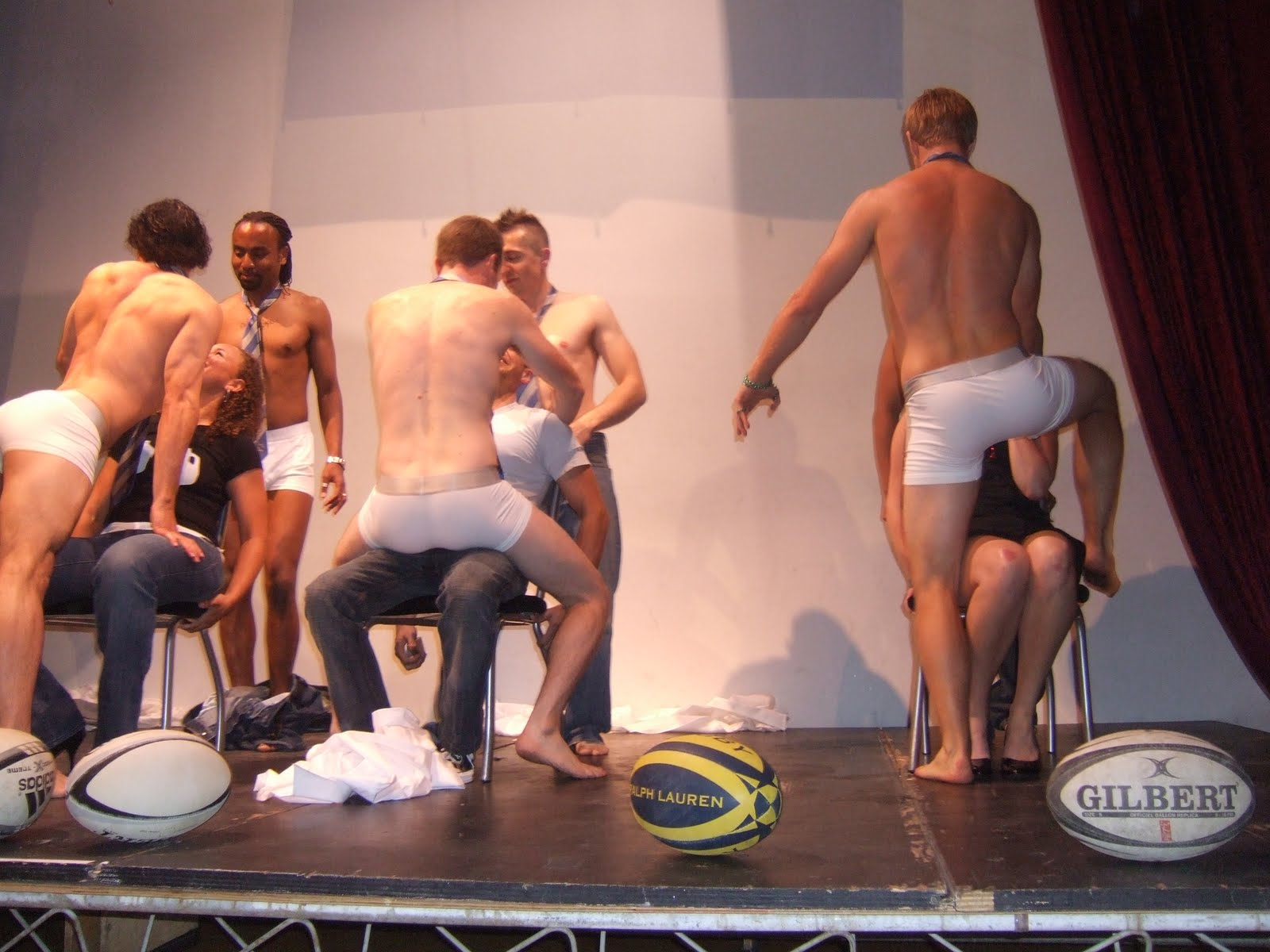 Naked male rugby photo really. And