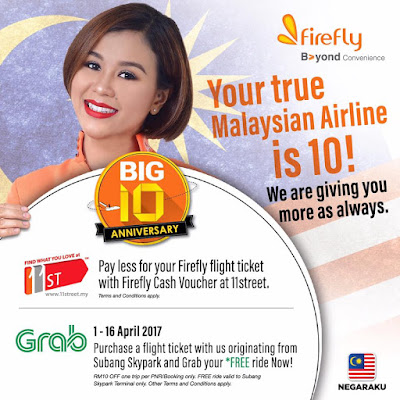 Firefly Airlines Cash Voucher Discount 11street Promo