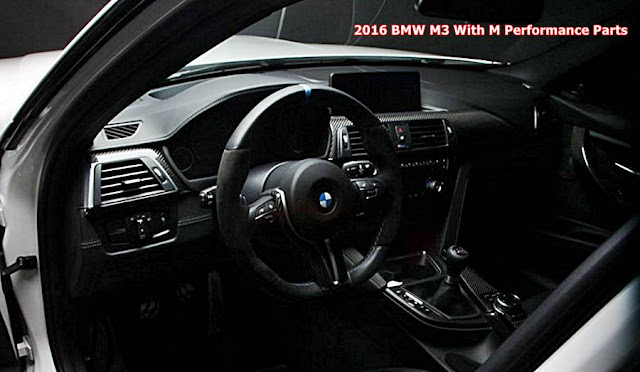 2016 BMW M3 With M Performance Parts
