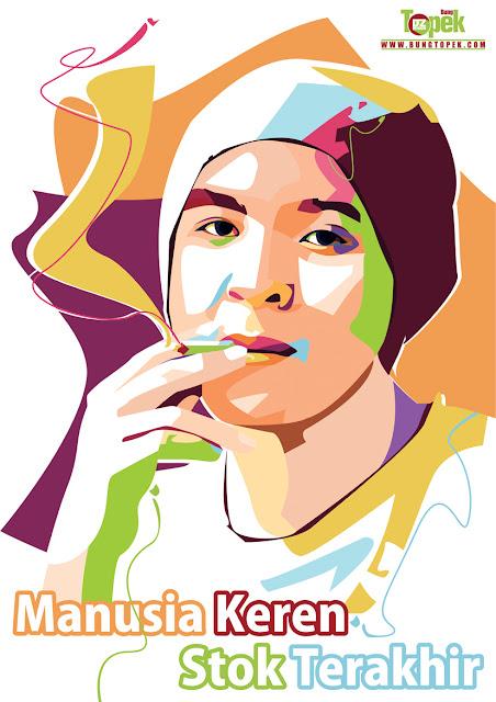 POP ART PORTRAIT Bung Topek