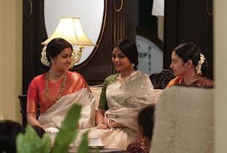 Keerthy Suresh in Saree in Mahanati Working Stills 3