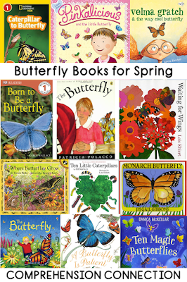 Celebrate spring with a unit on butterflies! This post includes a collection of teaching ideas and resources to make your planning easy. Great planning begins with a great collection of books.