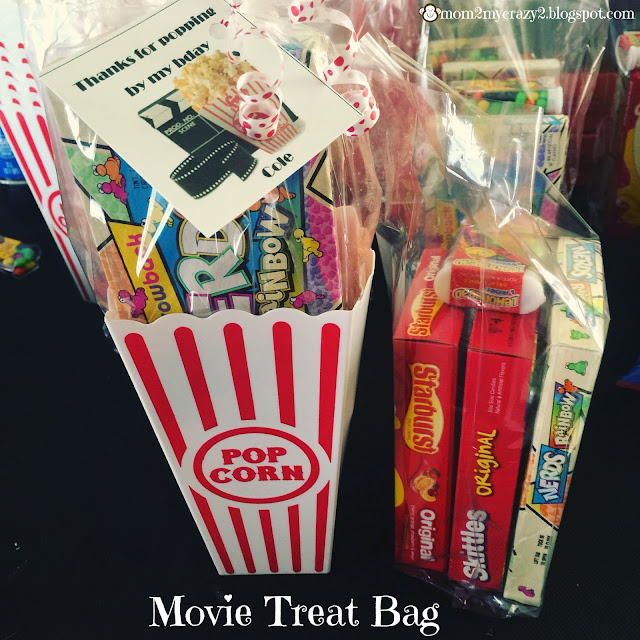 Running Away I Ll Help You Pack Movie Themed Treat Gift