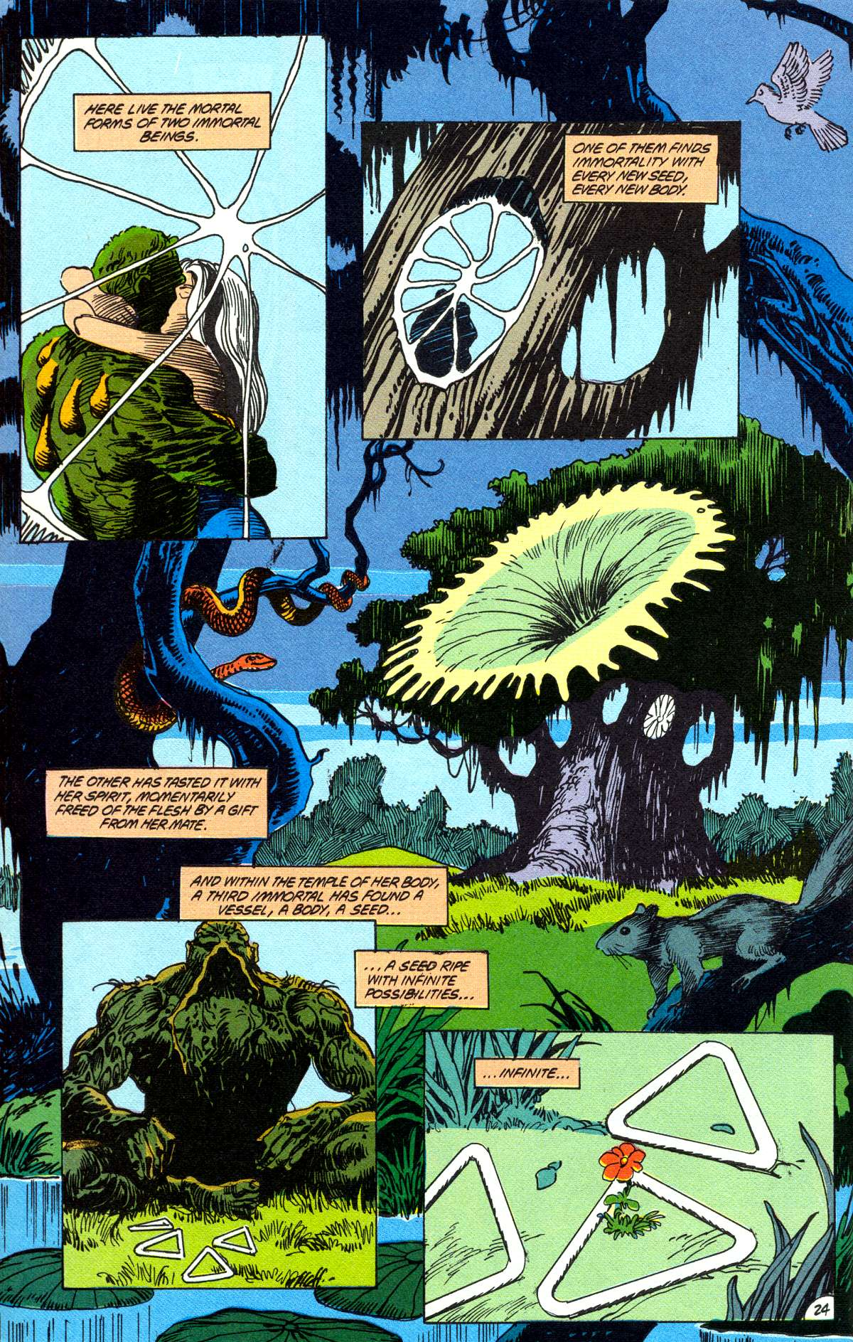 Swamp Thing (1982) Issue #78 #86 - English 25