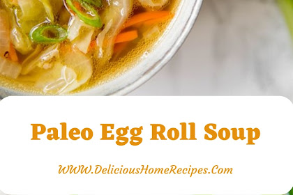 Paleo Egg Roll Soup #christmas #lunch