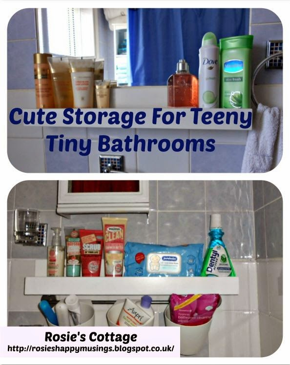 How To Add Extra Storage To Teeny Tiny Bathrooms