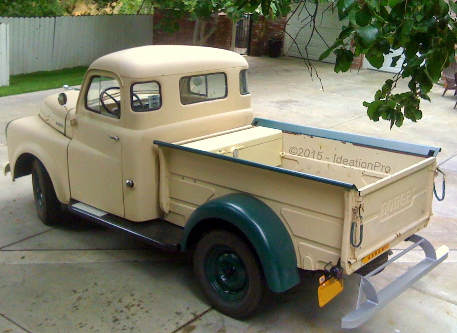 1949 Dodge B1b 108 Half Ton Pickup