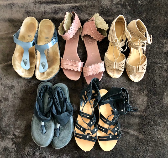 top 5 favorite summer sandals
