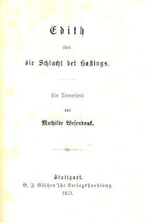 Mathilde Wesendonck: Edith oder die Schlacht bei Hastings. 1872