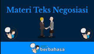Materi teks negosiasi