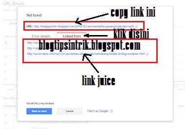 Menjadi Sumber Link Juice Yang Power Full  Cara Memanfaatkan Errors 404 Menjadi Link Juice Yang Power Full