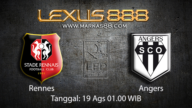 BOLA88 - PREDIKSI BOLA RENNES VS ANGERS 19 AGUSTUS 2018 ( FRENCH LIGUE 1 )