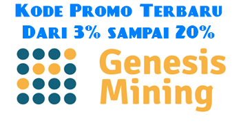 Coupon Code Genesis Cloud Mining - Genesis Discount Voucher - Promo Discount Up to 20%