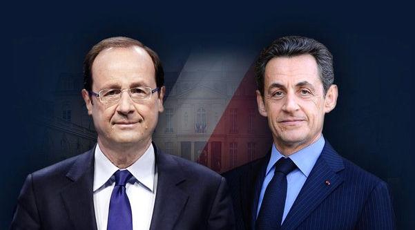 Mayoría de franceses contra candidatura de Hollande y Sarkozy en 2017