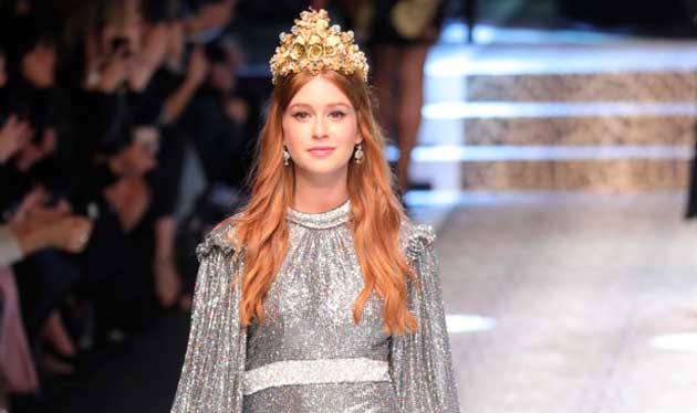 Marina Ruy Barbosa e Dolce Gabbana
