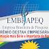 EMBRAPEQ divulga os  nomes do Prêmio Destaque Empresarial em São Joaquim do Monte 2017.