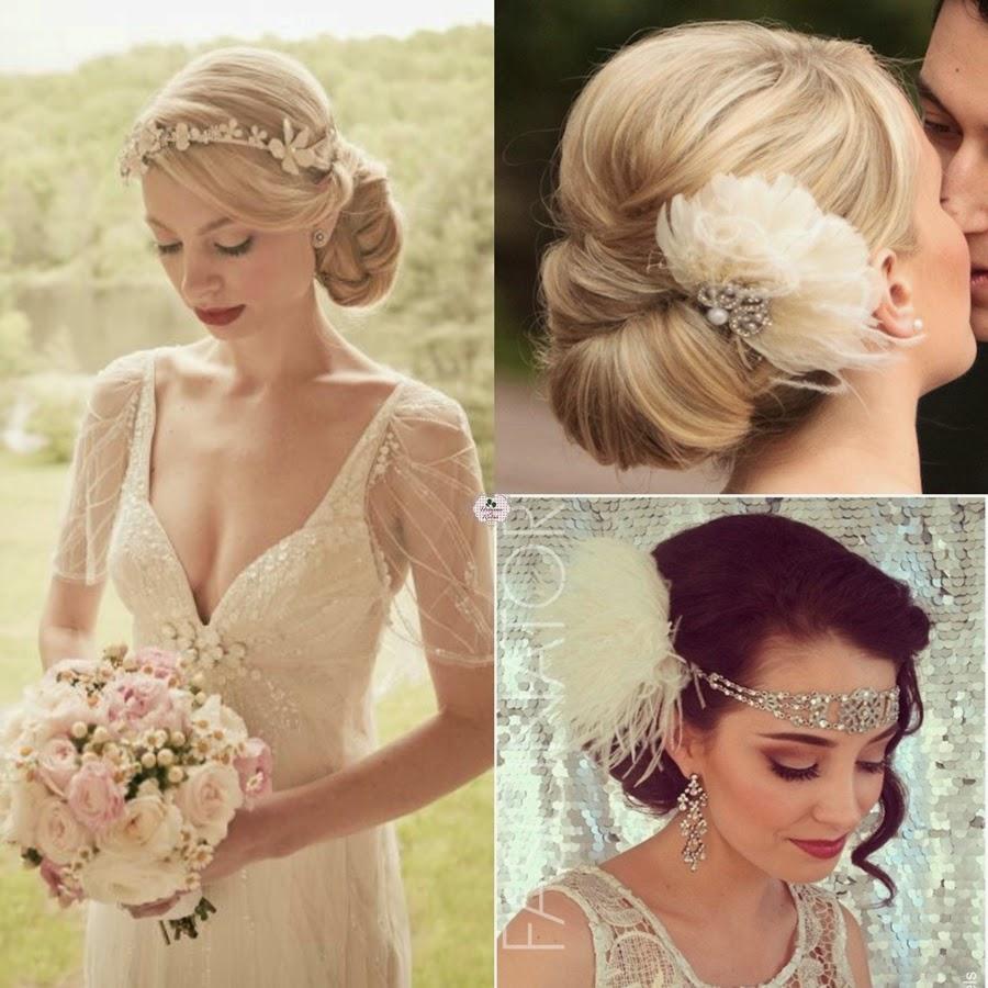 penteado retrô para noiva