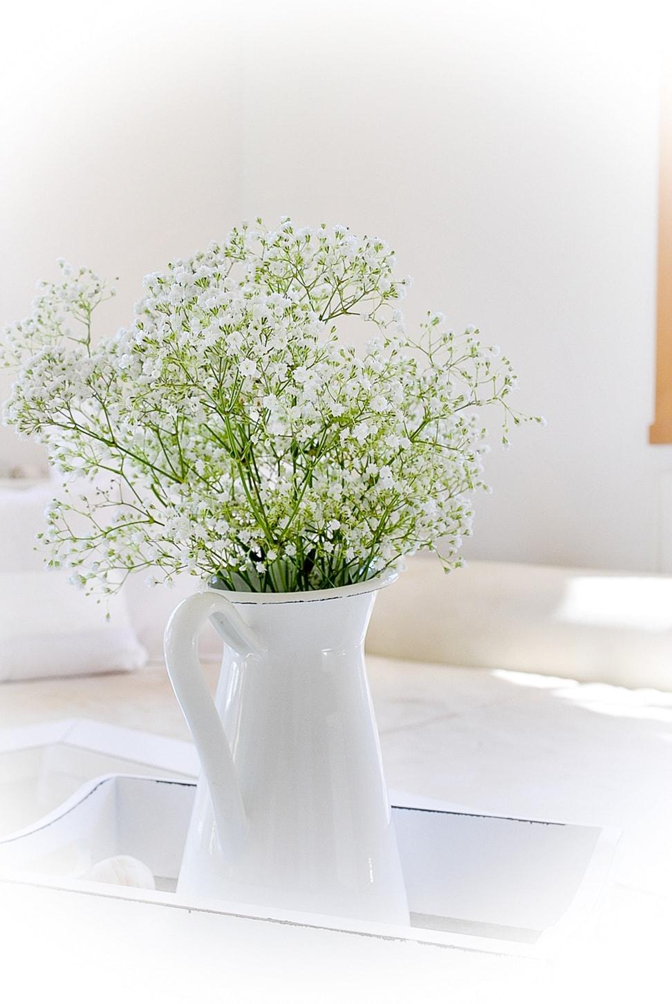Frühlingsdeko für das Wohnzimmer